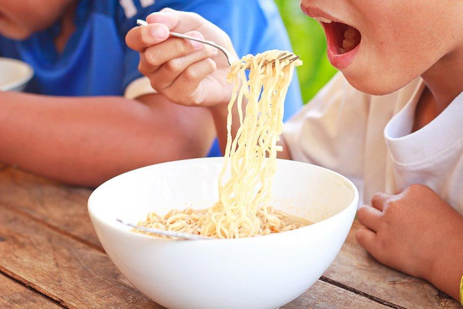 Seu filho come demais